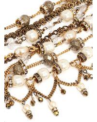 Erickson Beamon | Black 'ballroom Dancing' Multi-chain Bracelet | Lyst