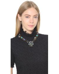 Erickson Beamon - Ripple Cascade Necklace - Green Multi - Lyst