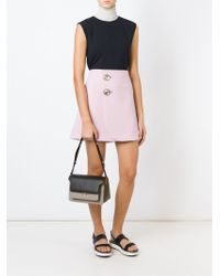 Marni | Gray 'metal Trunk' Shoulder Bag | Lyst
