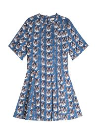 Paul & Joe - Blue Paul and Joe Sister Day Dress in Winter Floral - Lyst
