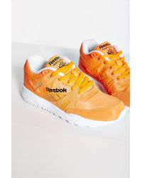 Reebok | Orange Ventilator Neon Running Sneaker | Lyst