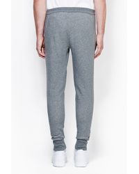 3.1 Phillip Lim - Gray Tapered Pant With Combo Panel for Men - Lyst