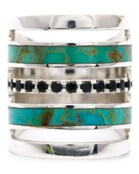 Pamela Love | Metallic Inlay Ring | Lyst