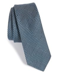 W.r.k. | Blue Pattern Silk & Wool Tie for Men | Lyst