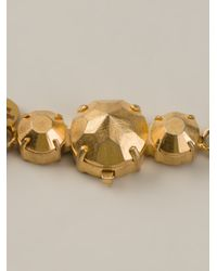 Shourouk - Metallic Phoenix Necklace - Lyst