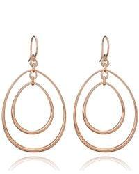 Dinny Hall - Metallic Large Rose Gold Vermeil Toro Earrings - Lyst
