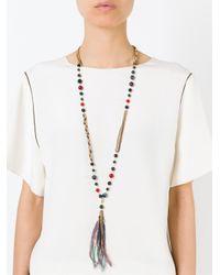 Rosantica | Metallic 'larice' Necklace | Lyst