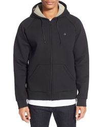 Tavik - Black 'cleon' Midweight Fleece Hoodie for Men - Lyst