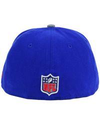 KTZ - Blue Kids' New York Giants Thanksgiving On-Field Reflective 59Fifty Cap for Men - Lyst