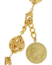 Dolce & Gabbana | Metallic Gold-tone Coin Necklace | Lyst