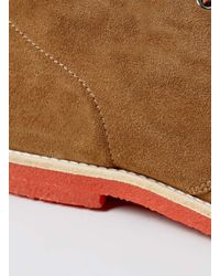 LAC | Brown Union Tan Suede Chukka Boots for Men | Lyst