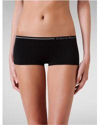 Calvin Klein | Black Underwear Seamless Hipster | Lyst