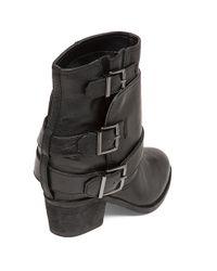 Jessica Simpson | Black Teagan Leather Booties | Lyst
