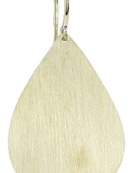 Irene Neuwirth | Metallic Gold Single Pear Earring | Lyst
