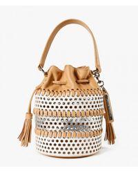 Loeffler Randall - Brown Mini Industry Bag - Lyst