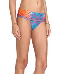 Nanette Lepore - Bejeweled Dreamer Bikini Bottom in Blue - Lyst