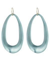 Alexis Bittar | Blue Organic Link Earring | Lyst
