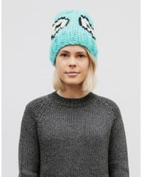 Wool And The Gang | Green Giles Eek Hat | Lyst