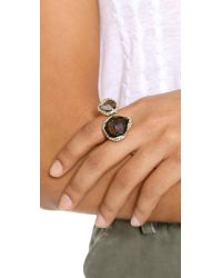 Alexis Bittar - Metallic Multi Stone Ring - Smokey Quartz - Lyst