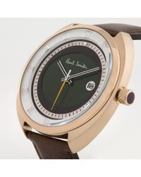Paul Smith - Green Steering Watch for Men - Lyst
