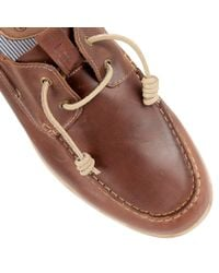 Lotus - Brown Maddox Slip On Casual Boat Shoes for Men - Lyst