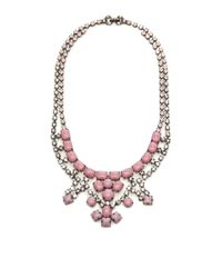 Tom Binns | Pink Neopolitano Crystal and Stone Necklace | Lyst