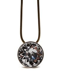 Lanvin | Black Long Pendant Necklace | Lyst