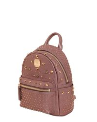 MCM | Pink Extra Mini Bebe Boo Special Backpack | Lyst