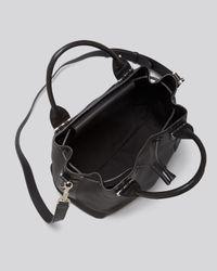 Mackage - Black Satchel - Kiney Drawstring Bucket - Lyst