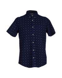 Deus Ex Machina - Blue Shirt for Men - Lyst