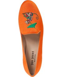 Jon Josef | Monkey Loafer Orange Fabric | Lyst
