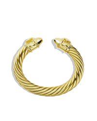 David Yurman - Metallic Limitededition Renaissance Bracelet in Amber Aluminum - Lyst