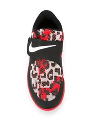 Nike - Red Free Sock Fly Techno Jacquard Sneakers for Men - Lyst