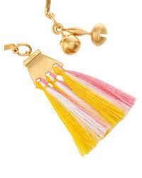 Chloé - Pink Janis Tassel-charm Cuff - Lyst