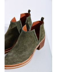 Jeffrey Campbell - Green Fontana Ankle Boot - Lyst