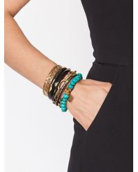 Ashley Pittman | Metallic 'cattle Horn' Bangle | Lyst