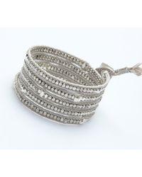 Nakamol - Multicolor Clovis Wrap Bracelet-Silver - Lyst
