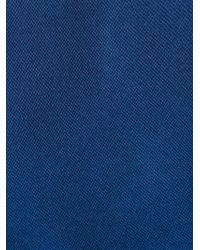 BOSS - Blue Classic Plain Tie for Men - Lyst