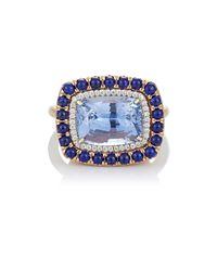 Irene Neuwirth - Blue Gemstone Ring - Lyst