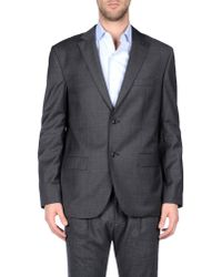 Class Roberto Cavalli - Gray Blazer for Men - Lyst