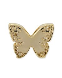 Kendra Scott - Metallic 14k Gold Plated Butterfly Charm - Lyst