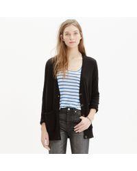 Madewell - Black Graduate Cardigan Sweater - Lyst