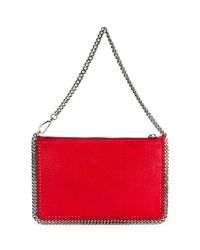 Stella McCartney - Red Falabella Clutch - Lyst