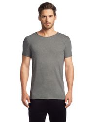 HUGO | Gray Relaxed-fit T-shirt In Supima Cotton for Men | Lyst