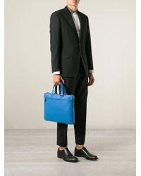 Fendi - Blue 'Business' Briefcase for Men - Lyst