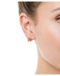 Ruth Tomlinson | Metallic Gold Champagne Diamond Stud Earrings | Lyst