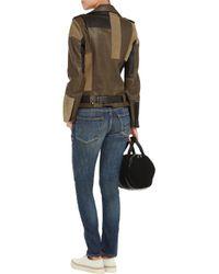 R13 - Blue Slouch-Fit Slim Low-Rise Stretch-Denim Jeans - Lyst