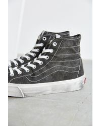 Vans - Black Sk8-hi Overwashed Decon Sneaker - Lyst