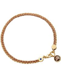 Astley Clarke - Metallic Heroes Bracelet with Smoky Quartz - Lyst