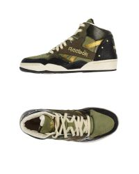 Reebok - Green Low-tops & Trainers for Men - Lyst